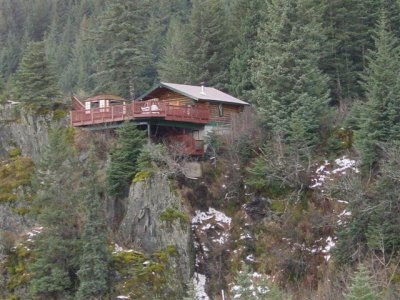 A Cabin on the Cliff