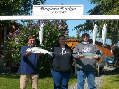 Experience Silver Salmon Fishing