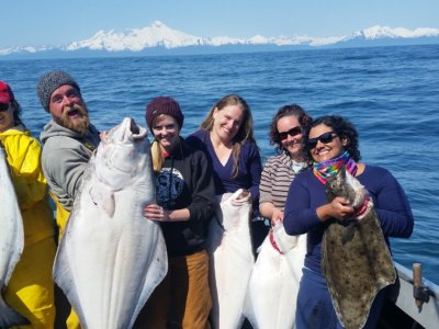 $25 OFF HALIBUT FISHING CHARTERS