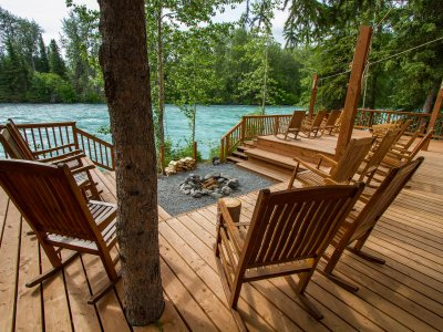 Kenai Riverside Lodge with Alaska Wildland Adventures