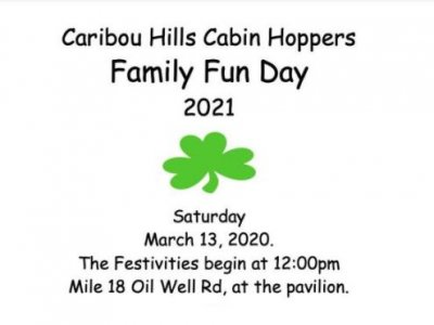 Family Fun Day - Caribou Hills Cabin Hoppers