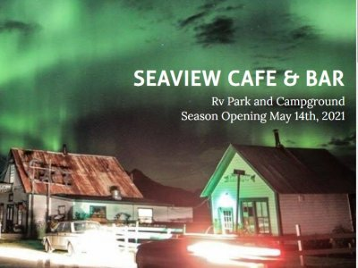 Seaview Cafe & Bar 2021 Opening Day